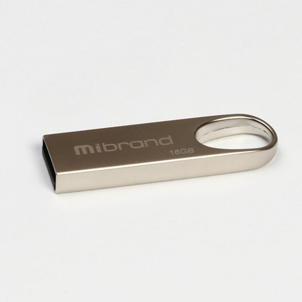 USB флеш накопитель Mibrand 16GB Irbis Silver USB 2.0 (MI2.0/IR16U3S)