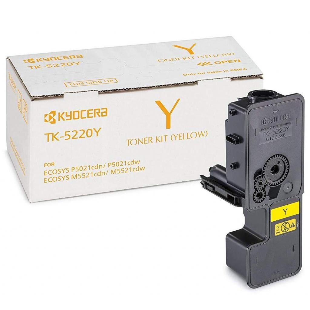 Тонер-картридж Kyocera TK-5220Y yellow (1T02R9ANL1)