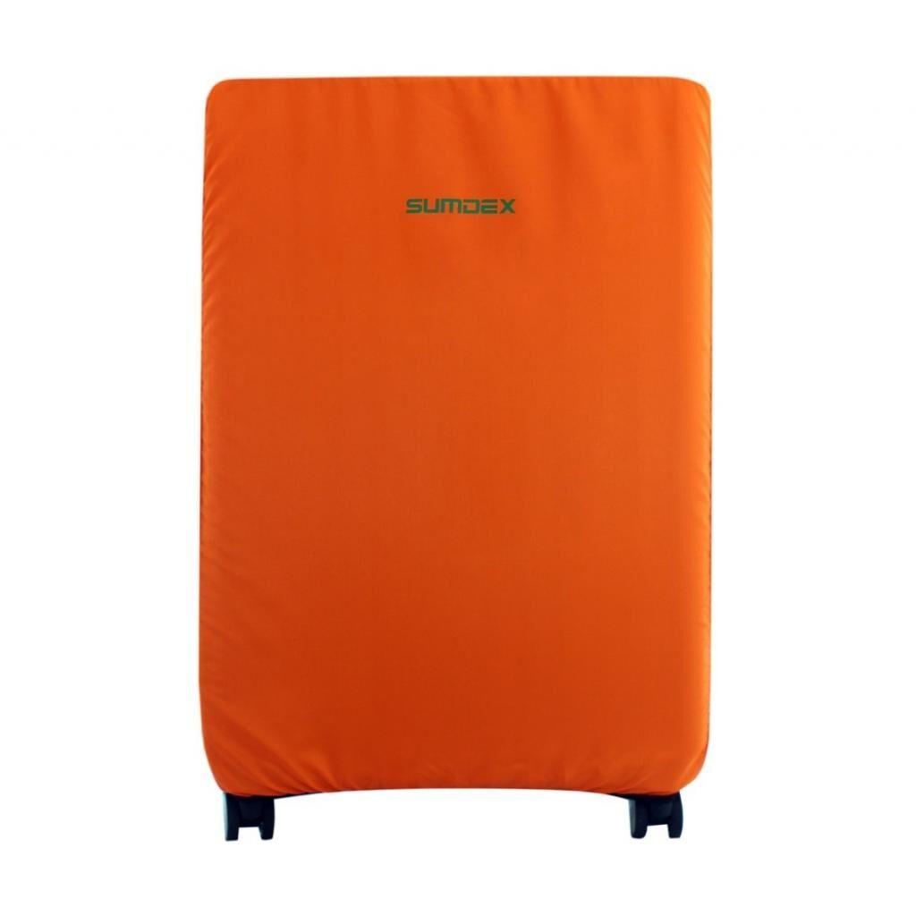 Чехол для чемодана SUMDEX средний оранжевый L (ДХ.02.Н.26.41.989)