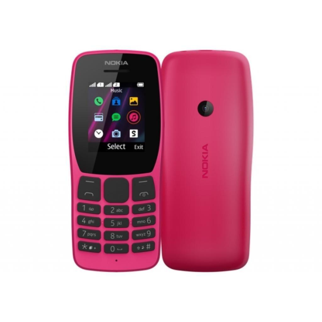 Мобильный телефон Nokia 110 DS Pink (16NKLP01A01)