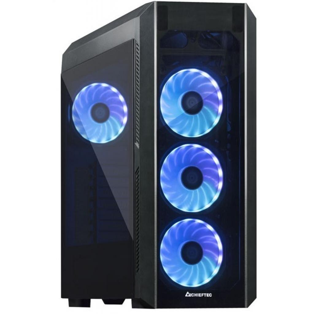Корпус CHIEFTEC Scorpion 3 Tempered Glass Edition (GL-03B-OP)