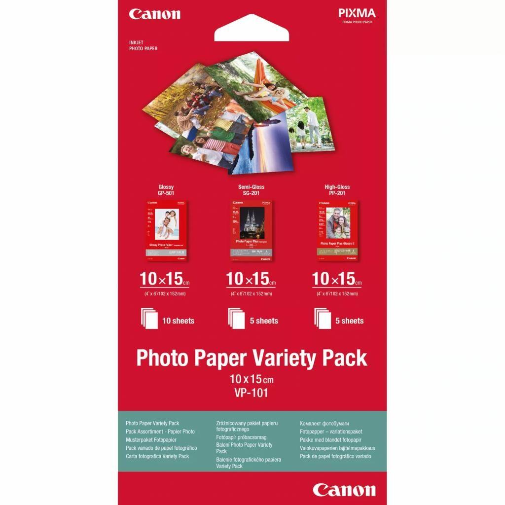 Бумага Canon 10x15 Photo Paper Variety-Pack VP101S (0775B078)