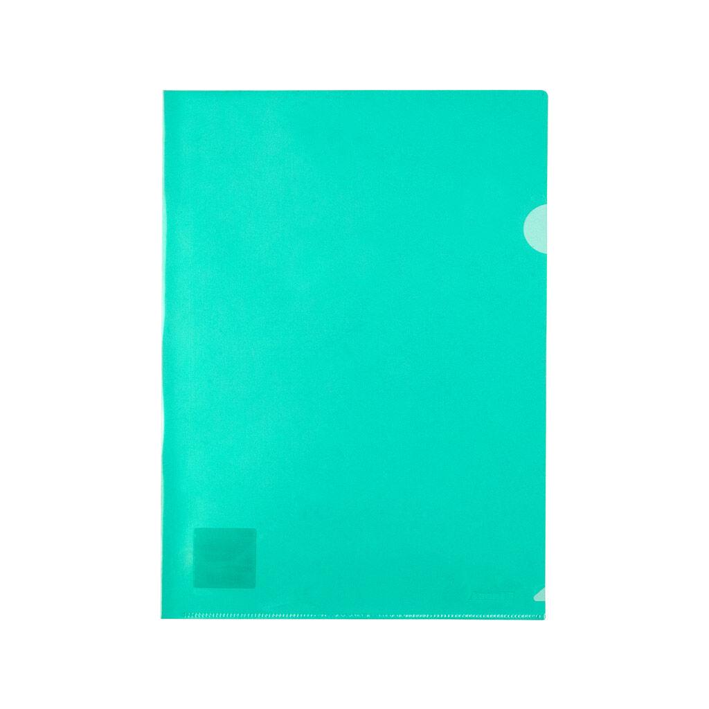 Папка – уголок Axent зеленая (1434-25-A)
