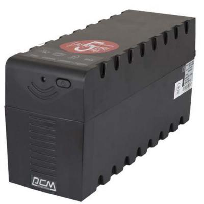 Источник бесперебойного питания Powercom RPT-600A Schuko