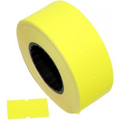 Этикет-лента Aurika 21х12 yellow (2112Y)