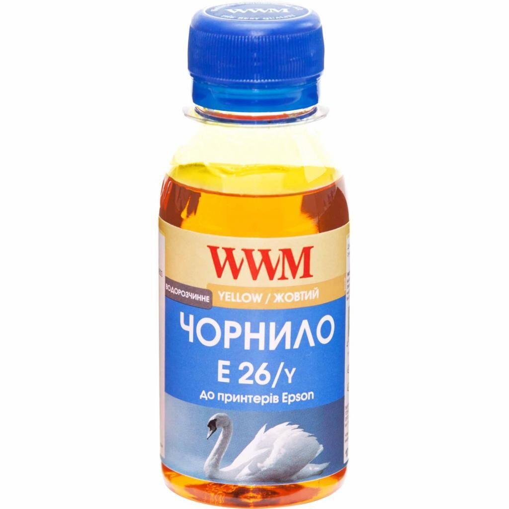 Чернила WWM Epson XP-600/XP-605/XP-700 100г Yellow (E26/Y-2)