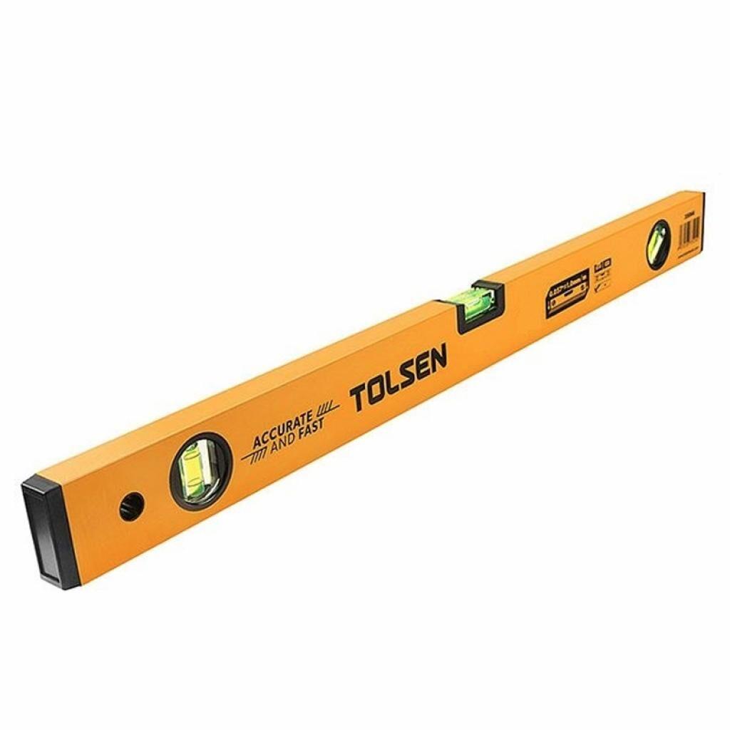Уровень Tolsen 200 см 3 капсулы алюминиевая рамка 1 мм (35091)