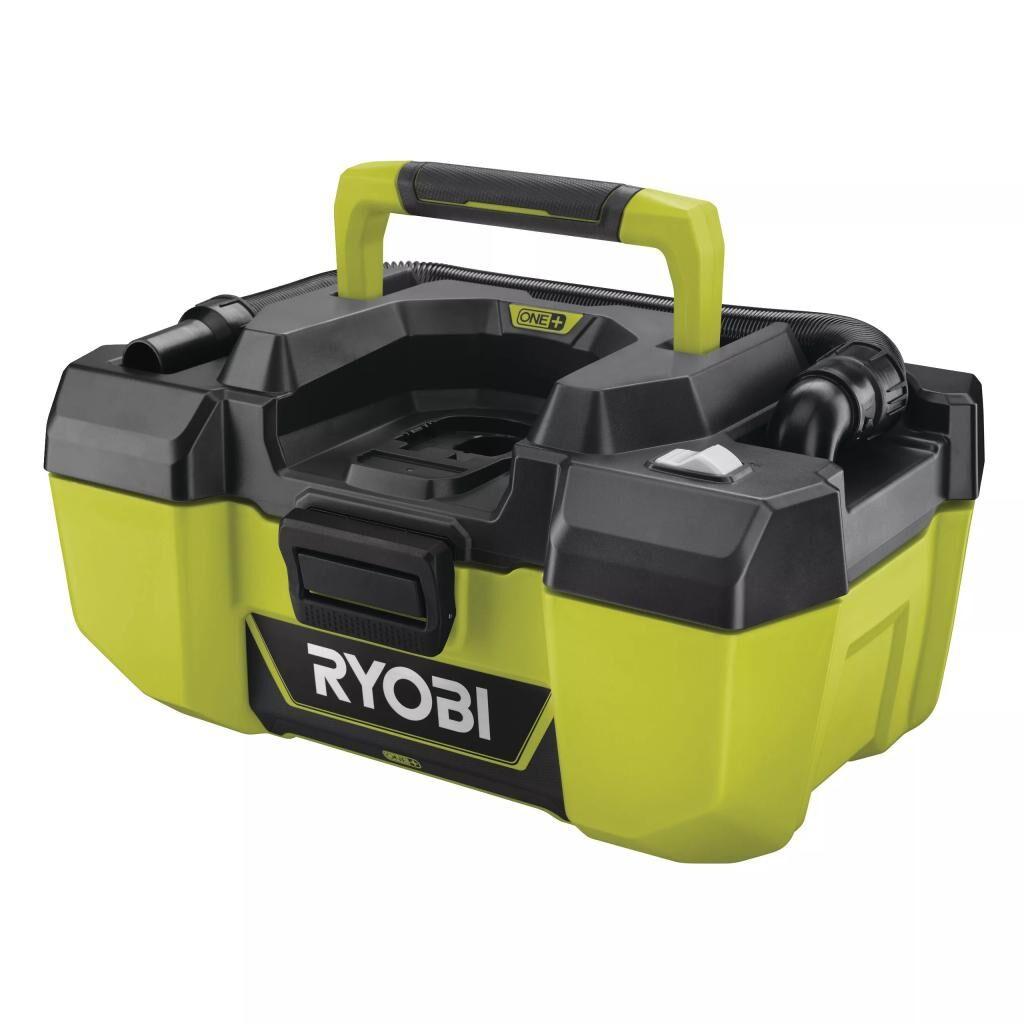 Пылесос строительный Ryobi R18PV-0 ONE+ (без АКБ и ЗУ) (5133003786)