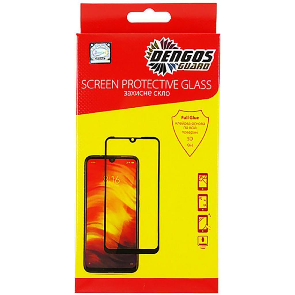 Стекло защитное DENGOS Full Glue Samsung Galaxy A12 (A125), Black frame (TGFG-157)