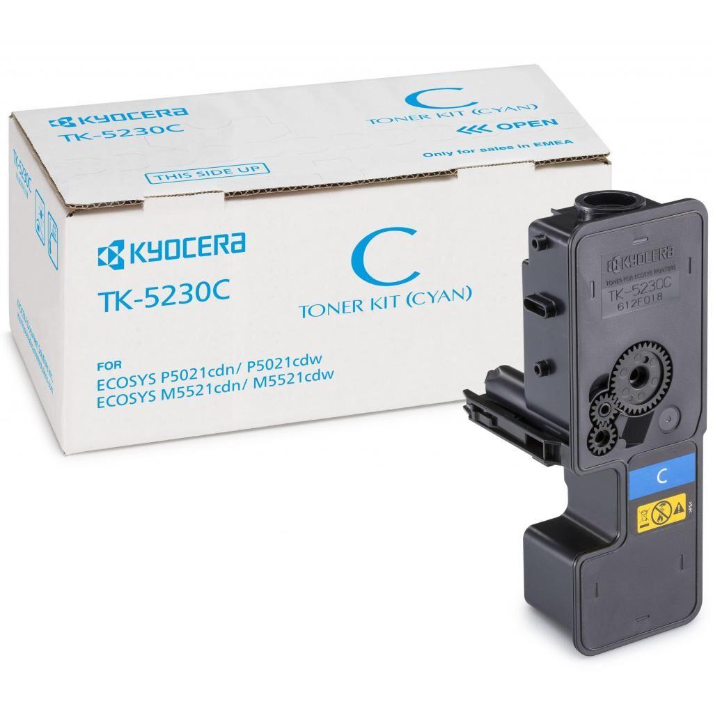 Тонер-картридж Kyocera TK-5230C cyan (1T02R9CNL0)