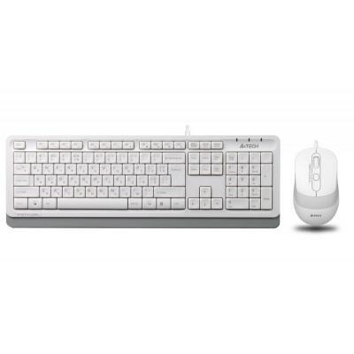 Комплект A4tech F1010 White