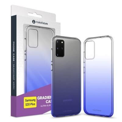 Чехол для моб. телефона MakeFuture Samsung S20 Plus Air Gradient (TPU) Blue (MCG-SS20PBL)