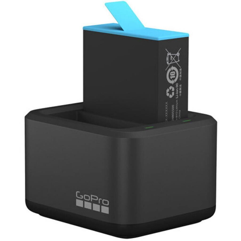 Аксессуар к экшн-камерам GoPro Dual Battery Charger + Battery HERO9 Black (ADDBD-001-EU)