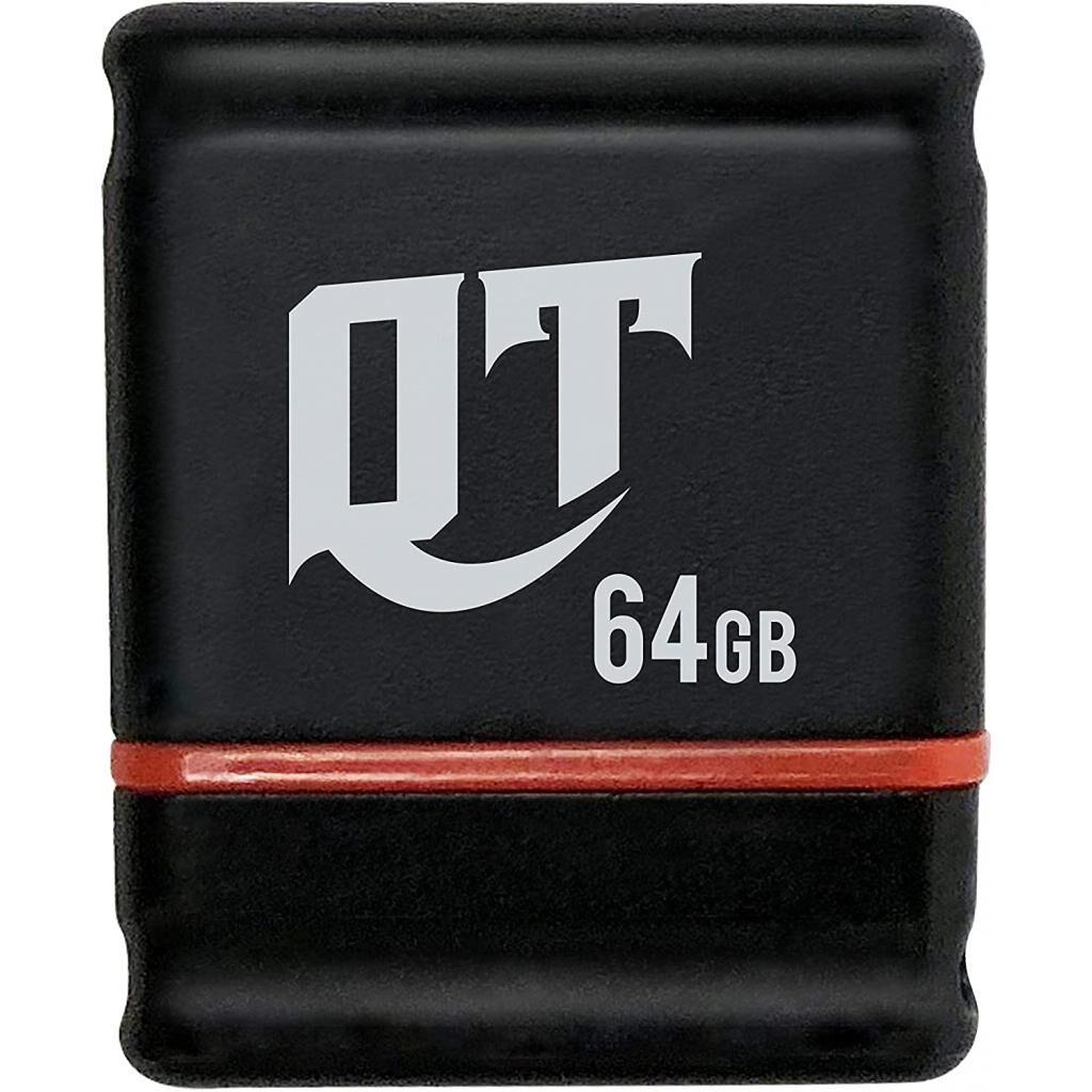 USB флеш накопитель Patriot 64GB Lifestyle QT Black USB 3.1 (PSF64GQTB3USB)