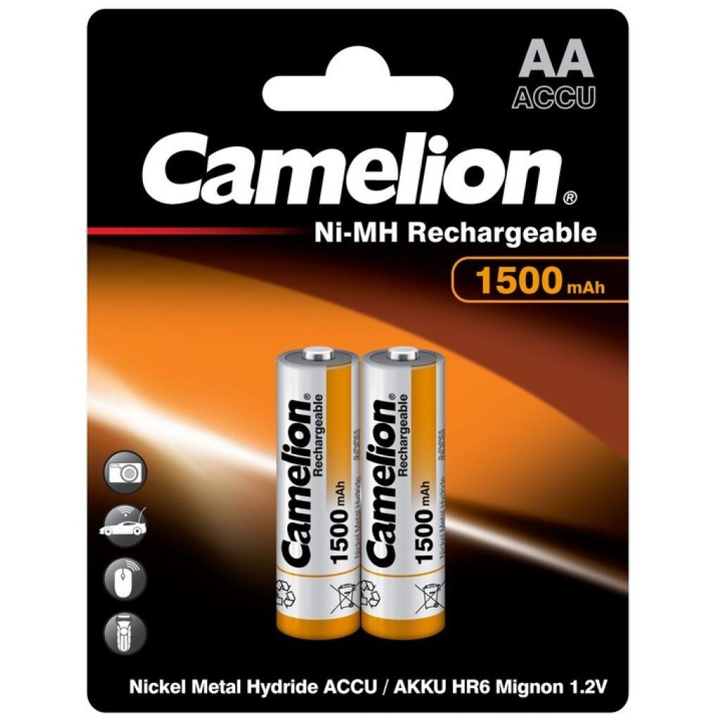 Аккумулятор Camelion AA 1500mAh Ni-MH * 2 R6-2BL (NH-AA1500BP2)