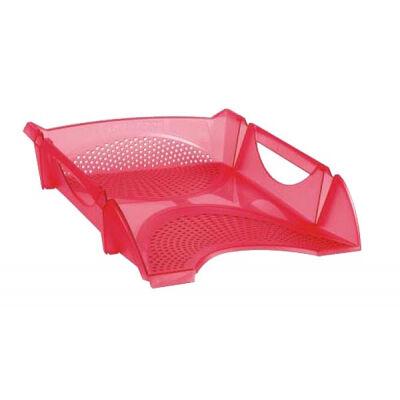 Лоток для бумаг Koh-i-Noor horizontal, transparent red (754149)