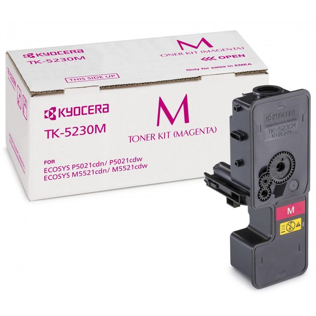 Тонер-картридж Kyocera TK-5230M magenta (1T02R9BNL0)