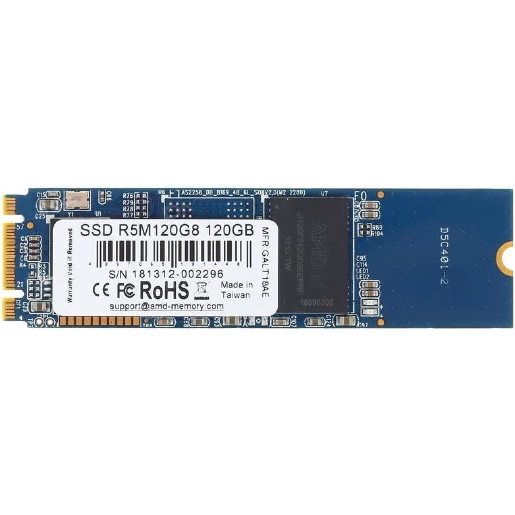 Накопитель SSD M.2 2280 120GB AMD (R5M120G8)