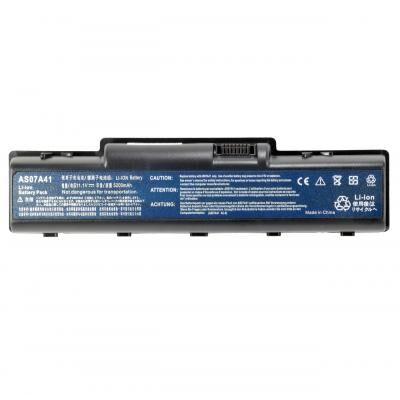 Аккумулятор для ноутбука Acer AS07A74, 4800mAh, 6cell, 11.1V, Li-ion (A47163)