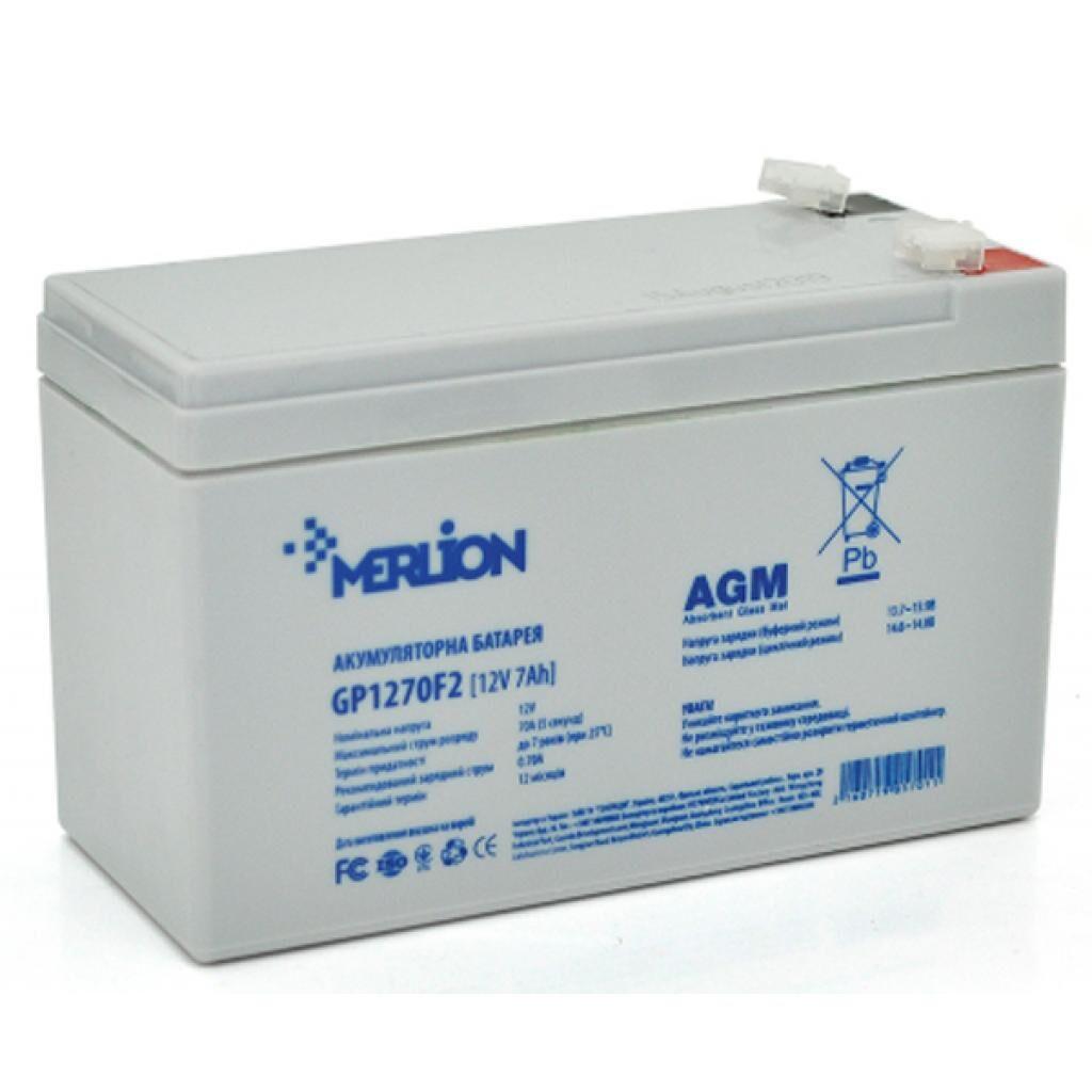 Батарея к ИБП Merlion 12V-7Ah (GP1270F2)