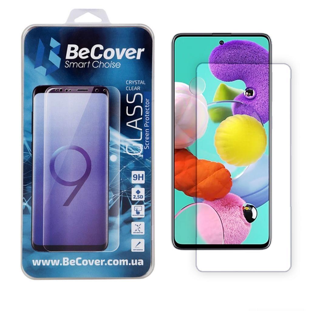 Стекло защитное BeCover Samsung Galaxy A51 SM-A515 Crystal Clear Glass (704669)