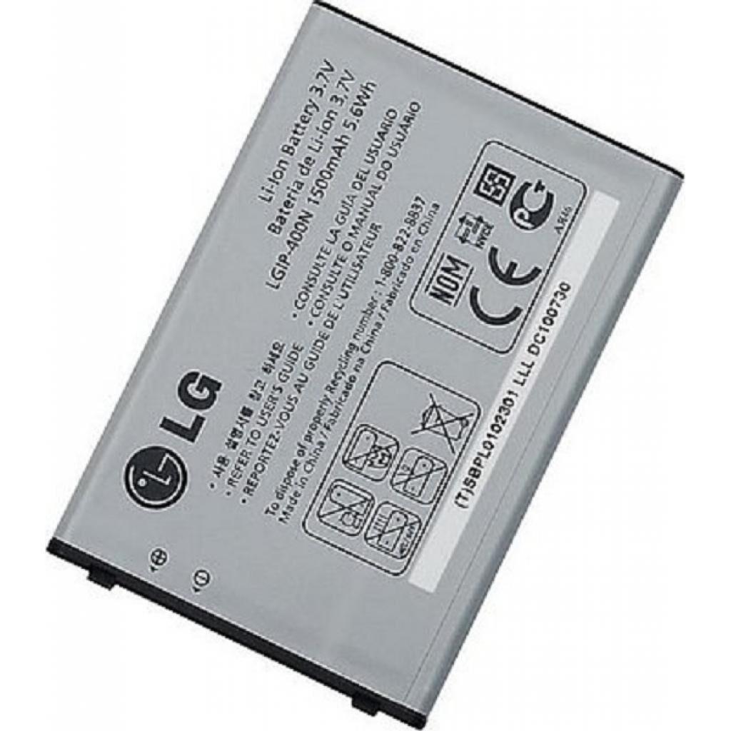 Аккумуляторная батарея для телефона LG for GW620/GX200/GX300/GX500/GT540 (LGIP-400N / 21465)
