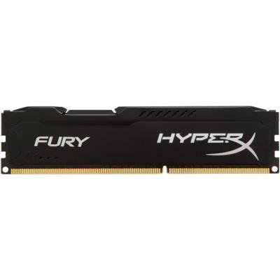 Модуль памяти для компьютера DDR3 4GB 1866 MHz LoFury Black HyperX (Kingston Fury) (HX318LC11FB/4)