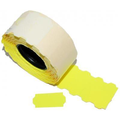 Этикет-лента Aurika 26х12 yellow (2612Y)