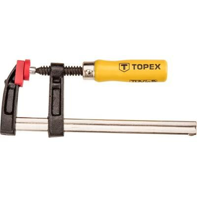Струбцина Topex тип F 50 x 250 мм (12A102)