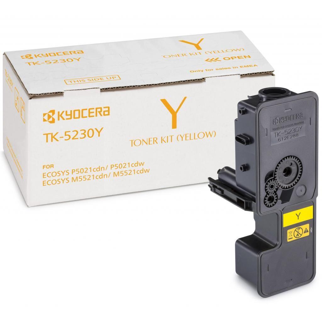 Тонер-картридж Kyocera TK-5230Y yellow (1T02R9ANL0)