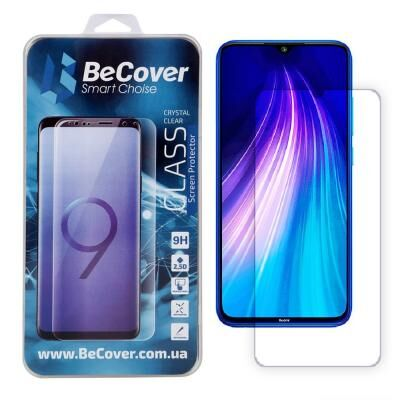 Стекло защитное BeCover Xiaomi Redmi Note 8T Crystal Clear Glass (704526)
