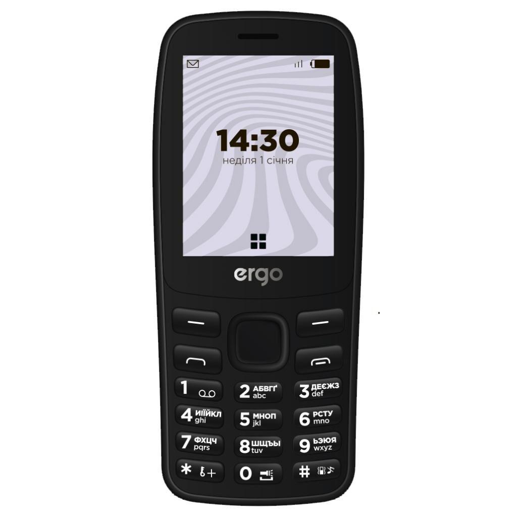 Мобильный телефон Ergo B241 Black