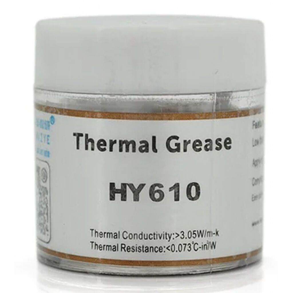 Термопаста Halnziye HY-610 10g, банка