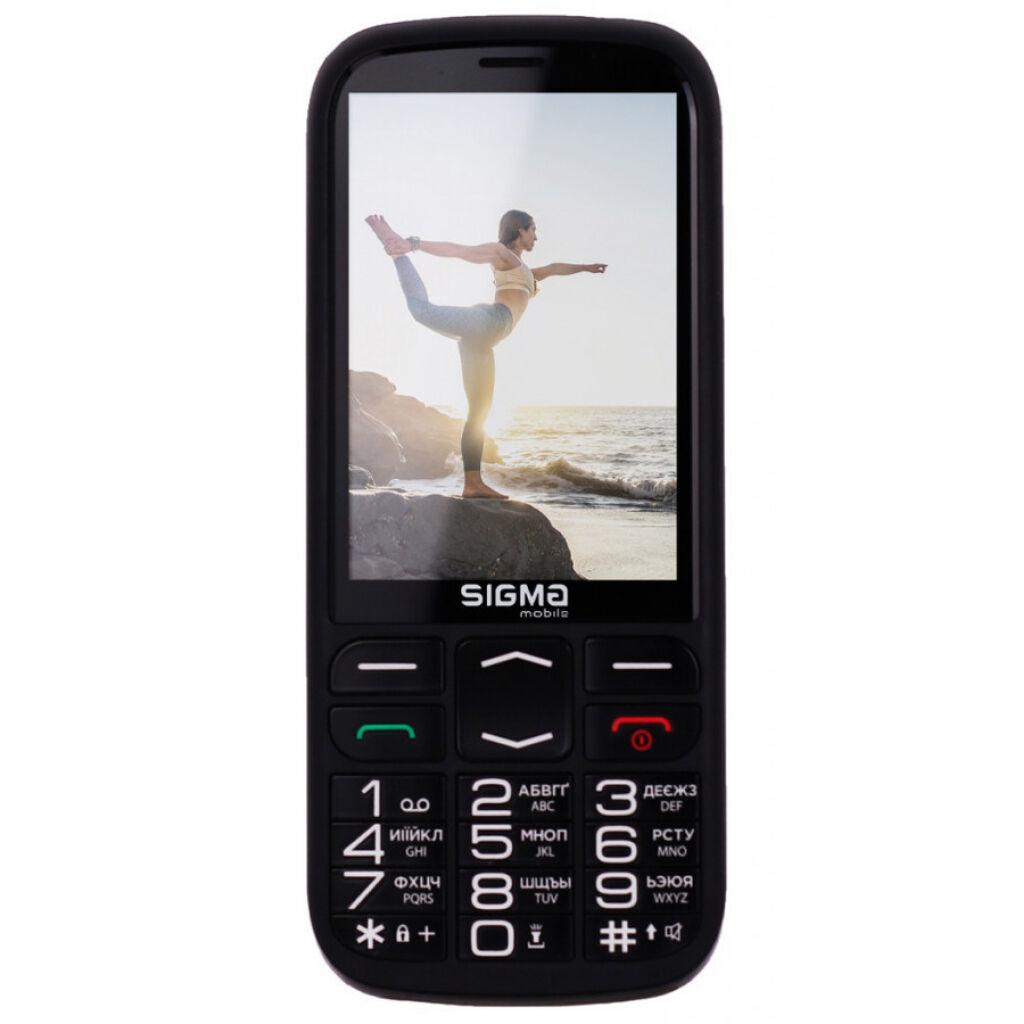 Мобильный телефон Sigma Comfort 50 Optima Black (4827798122211)
