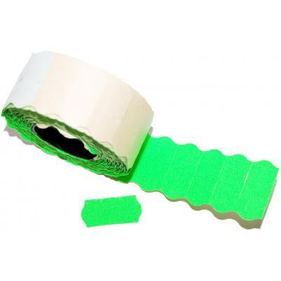 Этикет-лента Aurika 26х12 green (2612G)