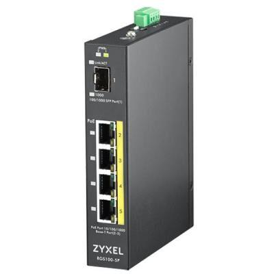 Коммутатор сетевой ZyXel RGS100-5P (RGS100-5P-ZZ0101F)