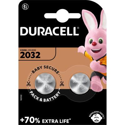 Батарейка Duracell CR 2032 / DL 2032 * 2 (5004349)