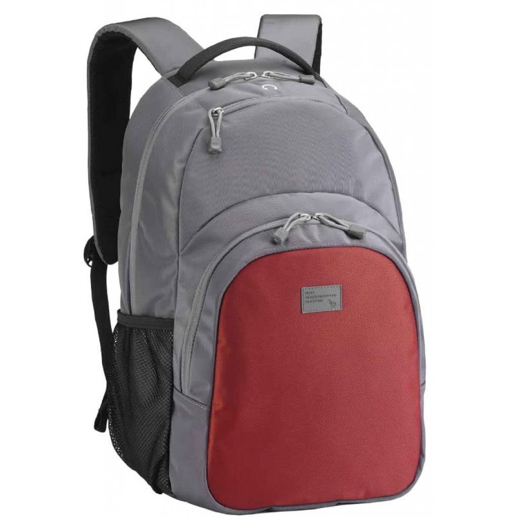 Рюкзак для ноутбука SUMDEX 15.6'' PON-336 Grey-Red (PON-336PR)