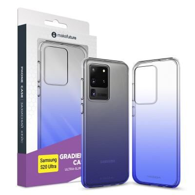 Чехол для моб. телефона MakeFuture Samsung S20 Ultra Air Gradient (TPU) Blue (MCG-SS20UBL)