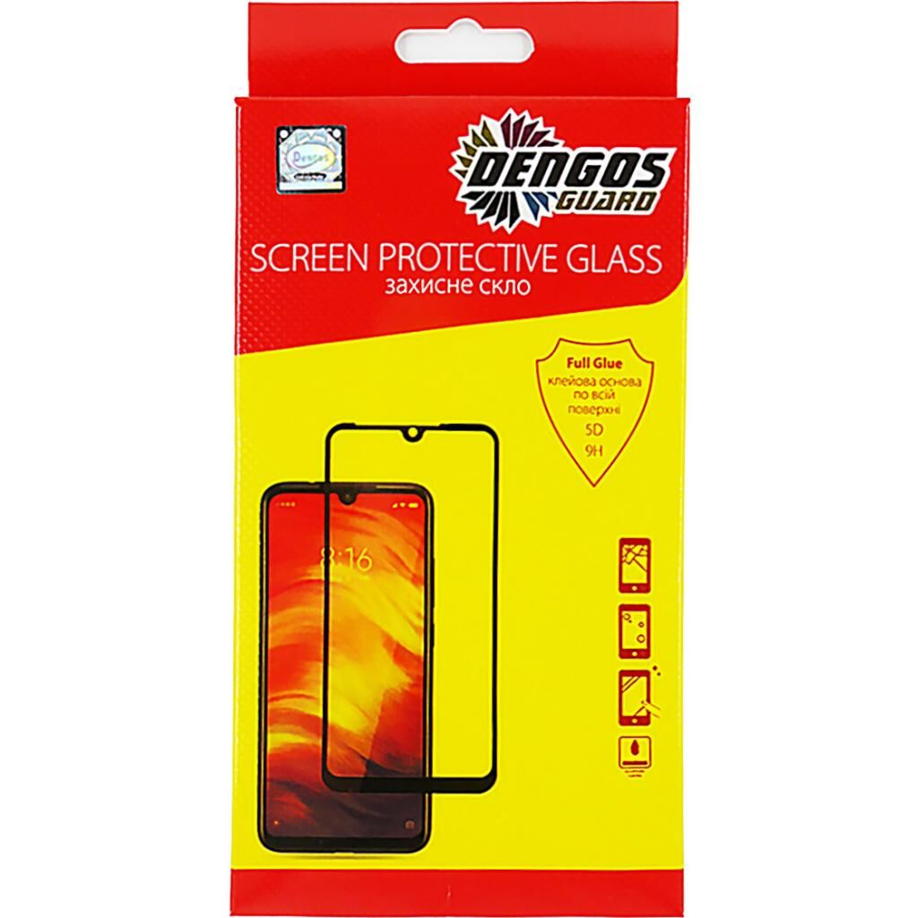 Стекло защитное DENGOS Samsung Galaxy M31 Full Glue (TGFG-102)