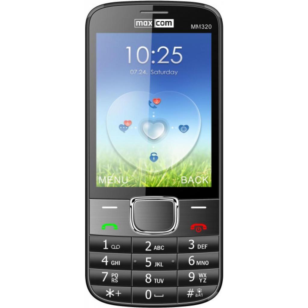 Мобильный телефон Maxcom MM320 Black