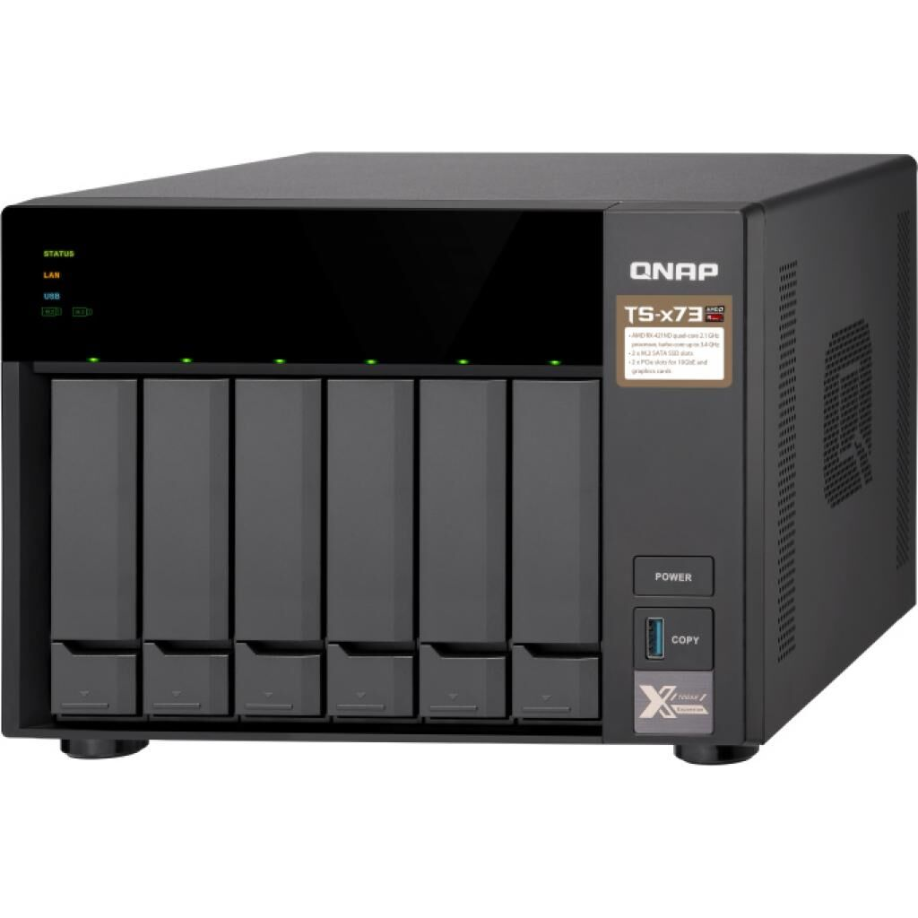 NAS QNap TS-673-4G