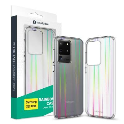 Чехол для моб. телефона MakeFuture Samsung S20 Ultra Rainbow (PC + TPU) (MCR-SS20U)