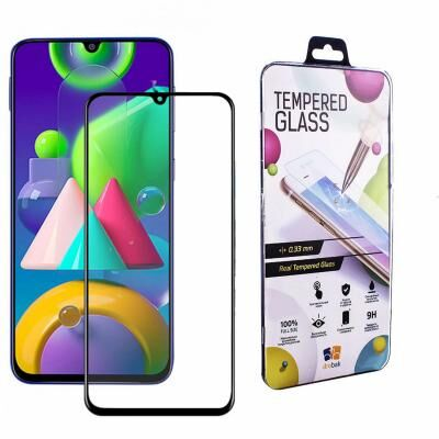 Стекло защитное Drobak Samsung Galaxy М21 (Black) (121226)