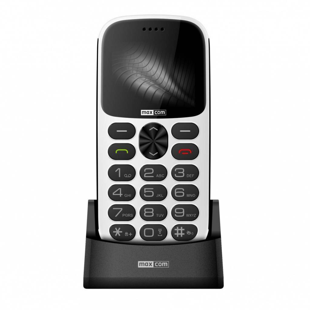Мобильный телефон Maxcom MM471 White