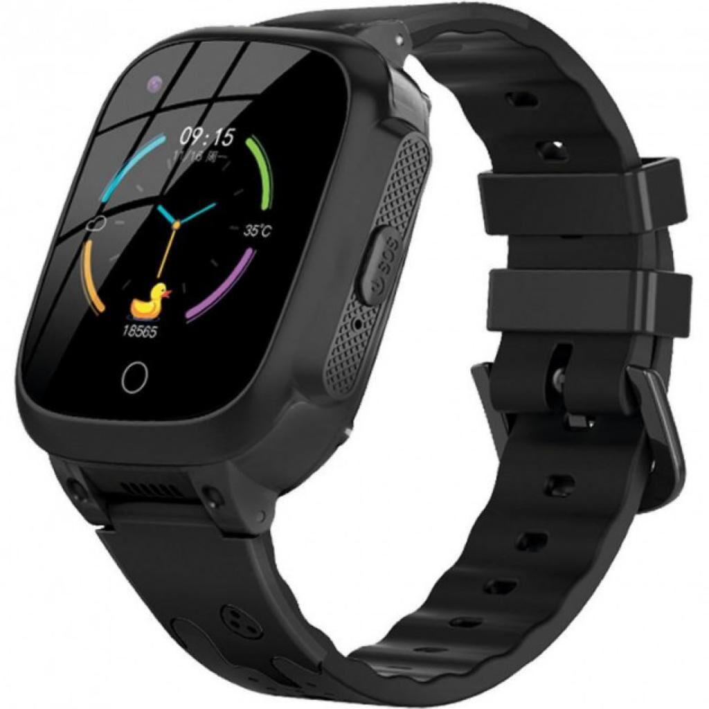 Смарт-часы Gelius Pro Care (PK004) LTE/VoLTE/Temperature Black kids watch GPS (ProCare(PK004)(Temperature)Black)