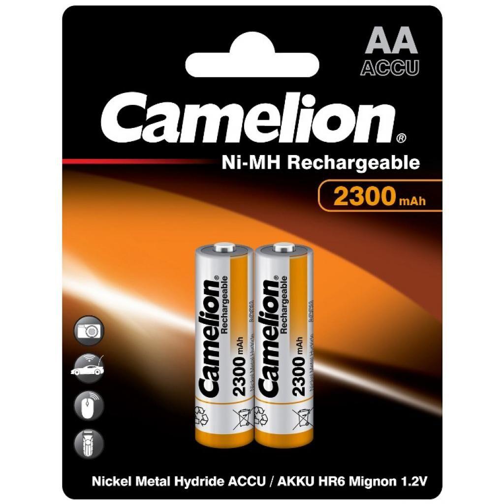 Аккумулятор Camelion AA 2300mAh Ni-MH * 2 R6-2BL (NH-AA2300BP2)