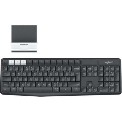Клавиатура Logitech K375s Multi-Device Graphite RU (920-008184)