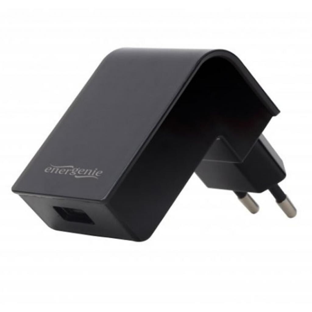 Зарядное устройство EnerGenie USB 2.1A black (EG-UC2A-02)