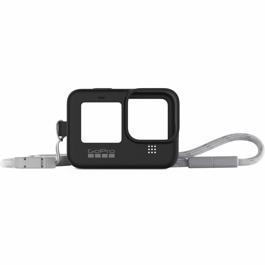 Аксессуар к экшн-камерам GoPro SleeveLanyard Black HERO9 Black (ADSST-001)